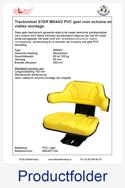 MS54017GL STAR voor schuine en vlakke montage PVC geel mechanisch MS44-2