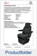 STPlus-TV5LX-STAR-luchtgeveerde-stoel
