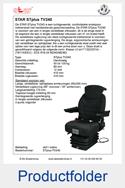 STPlus-TV240-STAR-smalspoor-luchtgeveerde-stoel