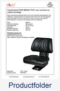 MS54008 STAR voor schuine en vlakke montage PVC mechanisch MS44-1