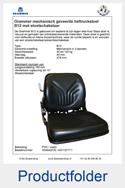 A54042CE-AG1127771 Grammer heftruckstoel met stoelschakelaar mechanisch B12