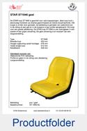 ST-1846-GL-STAR-ST1846-kuip-geel-met-langsverstelling-ongeveerde-stoel