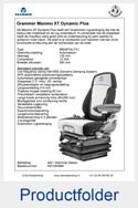 Folder AG1340888 Grammer Maximo XT Dynamic Plus luchtgeveerd