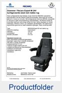 MS90952445351VR-Grammer-MSG95A-Recaro-Expert-M-vlakke-rug-luchtgeveerde-stoel-24V
