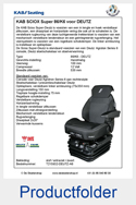 215932-KAB-86K6-SCIOX-Super-Deutz-luchtgeveerde-stoel