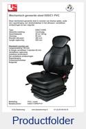 E85C1PVC United Seats PVC mechanisch E85-C1