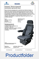 MS908545351-Grammer-MSG85-Recaro-Expert-M-mechanisch-geveerde-stoel