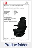BUS20355 United Seats stof zwart mechanisch E85-C1