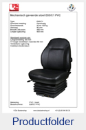 E85C1PVC United Seats PVC mechanisch E85-C1