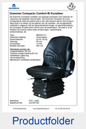 AG1047335 Grammer Compacto Comfort W PVC luchtgeveerd MSG93-721