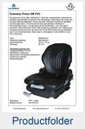 AG1091027 Grammer Primo XM MSG65-521 PVC mechanisch