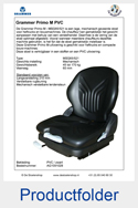 AG1091028 Grammer Primo M MSG65-521 PVC mechanisch