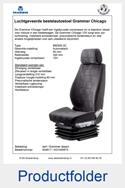 A54617-AG1040673 Grammer Chicago MSG90.3C stof Grammer dessin luchtgeveerd
