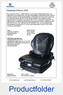AG1104725-A53025 Grammer Primo L MSG75G-521 PVC luchtgeveerd
