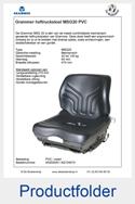 A52020H-AG134015 Grammer heftruckstoel mechanisch MSG20