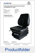 MSE8091-189 Cobo PVC mechanisch SC74-M200