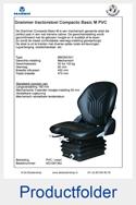 AG1081362 Grammer Compacto Basic M PVC mechanisch MSG83-521