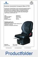 Productfolder AG1081364 Grammer Compacto Basic S PVC mechanisch MSG83-511