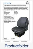 T204370 KAB11K6 PVC grijs