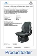 AG1288537 stof AGRI Grammer Compacto Basic W