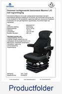 Productfolder A53060R Grammer Maximo LG met rugverlenging stof zwart