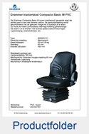 AG1047331 PVC Grammer Compacto Basic W