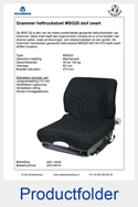 134016-Grammer-MSG20-heftruckstoel-mechanisch-geveerde-stoel