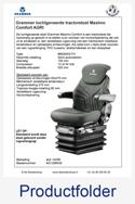 Productfolder AG1288539 Grammer Maximo Comfort AGRI MSG95G-731 luchtgeveerd
