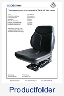 MSE8091-291 Cobo PVC mechanisch SC74-M15