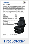 210400-KAB-83E1-PVC-mechanisch-geveerde-stoel